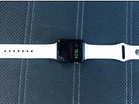 Apple Watch Series 1 42MM Cracked Screen