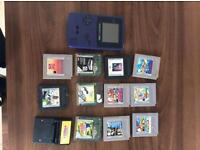 Gameboy colour 12 games £30