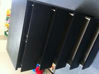 Ikea MALM 6-drawer dresser (black/brown)