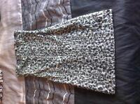Superbe robe tube small très bon état peu portée