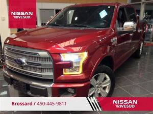 2015 Ford F-150 PLATINUM CUIR+TOIT PANO+GPS