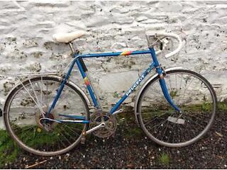 Peugot road bike vintage old school 80's