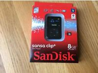 Scan disk 8g MP3 player brand new