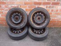 set of 4 tyres 175/65/14
