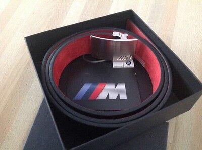 BMW M Herren Ledergürtel neu exklusiv