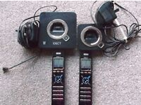 iDECT Q1i Twin Phones with Answering Machine