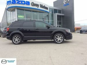 2015 Dodge Journey R/T, AWD, 7 Passenger, Heated Leather, low km