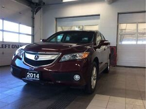 2014 Acura RDX Tech - Low km - One owner!