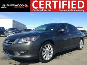 2014 Honda Accord Touring | NAVI | HEATED LEATHER | BLUETOOTH |