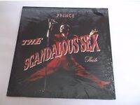 "PRINCE RARE IMPORTED MAXI SINGLE 12"" VINYL RECORD MINI ALBUM 1987 THE SCANDALOUS SEX SUITE"