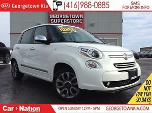 2015 Fiat 500L LOUNGE NAVI | PANO ROOF | BACKUP CAM | ALLOY WHEE