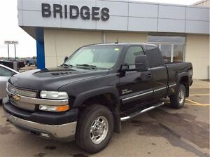 2002 Chevrolet SILVERADO 2500HD LT**ONE OWNER/LEATHER/GREAT SHAP