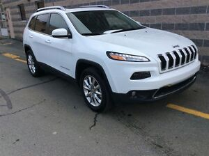 2016 Jeep Cherokee LIMITED/LEATHER/4X4/BACK UP CAM