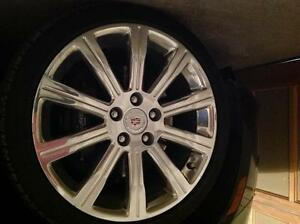 2014 Cadillac Brilliant Finish Rim