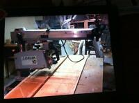 Radial arm saw 10 inch (delta)