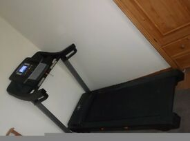 fantastic Nordic treadmill complete with ifit facility and including wall mount for tv screen