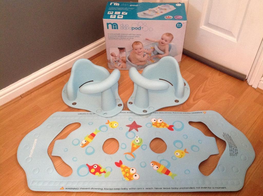 Mothercare Aqua pod duo bath seats for Twins (boxed) | in Gateshead ...