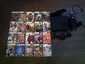 xbox 360 avec plein de jeux
