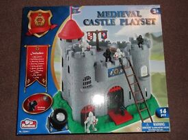 Medieval Castle Playset - Brand New