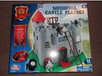 Brand New Medieval Castle Playset