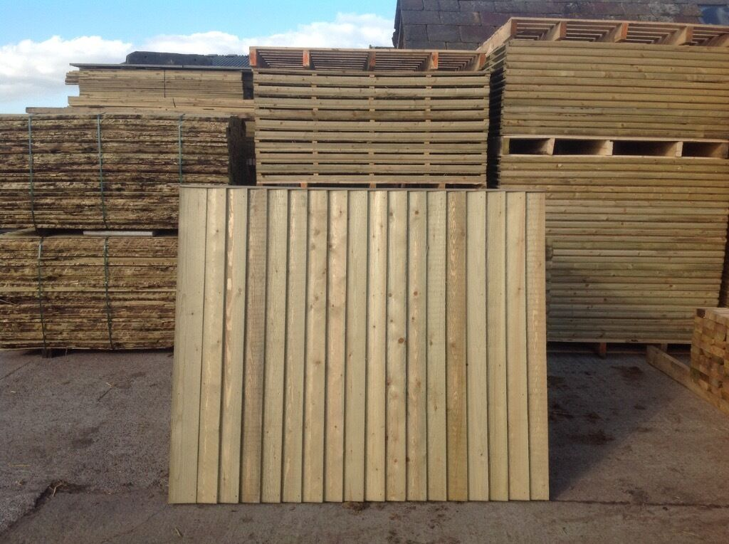 fence panels heavy duty close board buy sale and trade ads. Black Bedroom Furniture Sets. Home Design Ideas