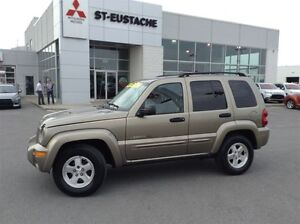 2003 Jeep Liberty Limited Edition SEULEMENT 87 581 KM WOOOW**4X4