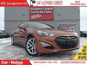2013 Hyundai Genesis 2.0T LEATHER| ROOF| ALLOYS| HOT COLOUR