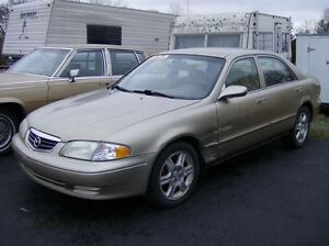 2001 Mazda 626 AS TRADED SPECIAL