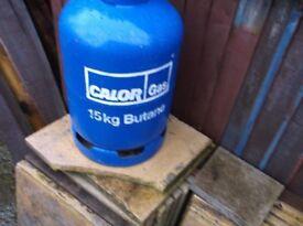 CALOR GAS BOTTLE FULL