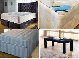 Double Beds, Single Beds, Mattresses, Rugs, Tables and Many More
