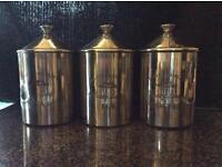 Coffee Tea Sugar Jars