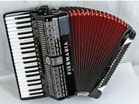 Piermaria 410 Accordion - 120 Bass / 3 Voice in Very Good Condition
