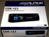 Alpine Receiver CDE-121 CD/MP3/AAC/WMA