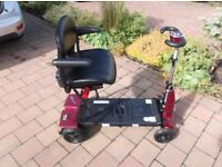MONARCH MOBIE SOLAX MOBILITY SCOOTER - AS NEW - FOLDABLE - SPARE BATTERY - HIGH SPEC - £895