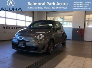 2013 Fiat 500 Abarth LOW KM! TURBO