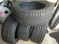 Goodyear Tyres - part worn good condition tyres