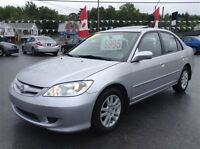 2005 Honda Civic LX-G,LOW KMS,SUNROOF,NEW SAFETY,READY TO GO!!!