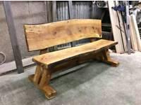Brand new Live edge bench seat