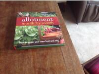 Hard back Allotment book and Hard Back The Churchill Factor. (See description.)