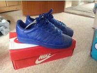 Adidas pharrell williams blue shell toes