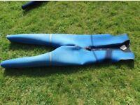 Ladies sleeveless wetsuit