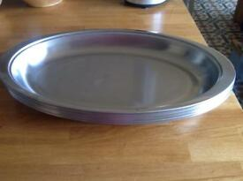 Stainless Steel Serving Platters 50cm