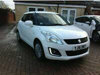 SUZUKI SWIFT SZ2 1.2 WHITE 16 REG NEW 5DR LOADED EXTRAS 1K LOW MILES SPOTTLESS ALLROUND MUST SEE CAR