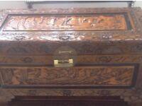 Compact Camphor Oriental chest