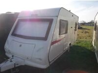 ELDDIS EXPLORE 452 2 BERTH CARAVAN 2011 HARDLY USED IMMACULATE AND LIGHTWEIGHT
