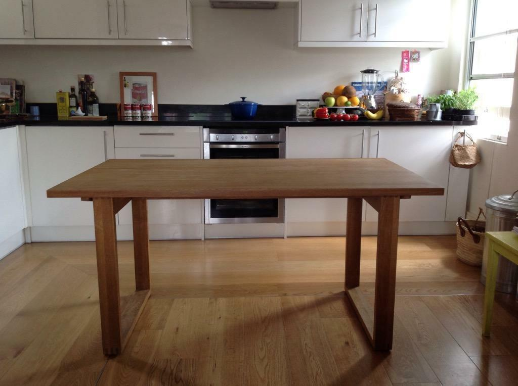 MUJI Solid Oak Dining Table which can be taken to pieces  : 86 from www.gumtree.com size 1024 x 764 jpeg 70kB