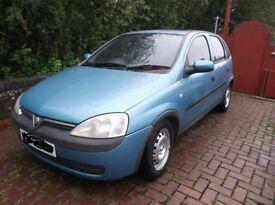 Vauxhall Corsa Comfort 1.2 5 door hatchback