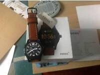 New fossil smart watch