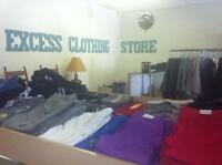Excess Clothing Store - NEW STOCK IN MAY 1, 2015
