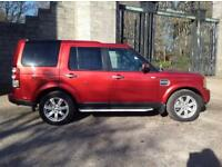 Land Rover Discovery 4 TDV6 GS (red) 2010-07-26